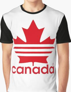Canada Sport Maple Leaf Graphic T-Shirt