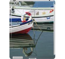 Small Skiffs - Lyme Regis Harbour iPad Case/Skin