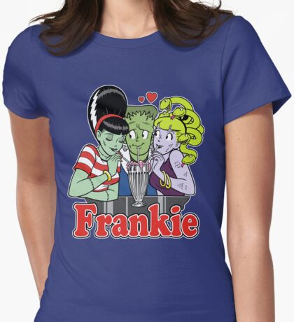 I Love Frankie! Womens Fitted T-Shirt