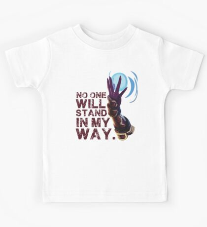 Ahri LoL - No one will stand in my way. Kids Tee