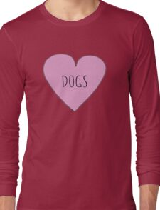 DOG LOVE Long Sleeve T-Shirt