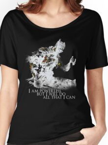 All i can - White Women's Relaxed Fit T-Shirt