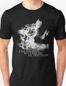 All i can - White T-Shirt