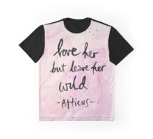 Leave Her Wild Graphic T-Shirt