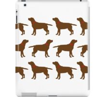 Chocolate Labradors iPad Case/Skin