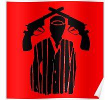 Guns on Head Poster
