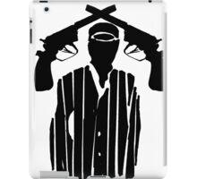 Guns on Head iPad Case/Skin