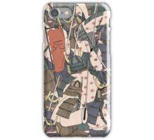 Samurai Ghosts iPhone Case/Skin