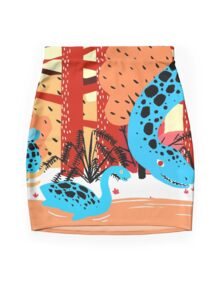Dinosaurs Mini Skirt