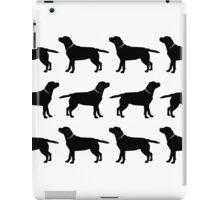 Black Labradors iPad Case/Skin