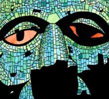 Aztec Mask Sticker