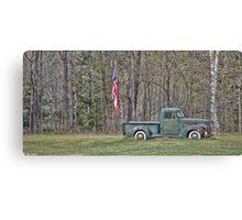 Proud Chevrolet Canvas Print