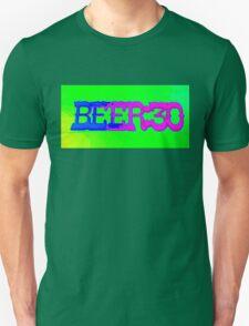 beer 30 sign Unisex T-Shirt
