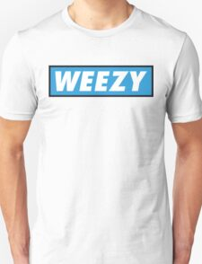 Official Weezy Black/White Tee - Blue T-Shirt