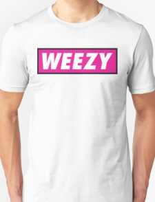 Official Weezy Black/White Tee - Pink T-Shirt