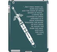 Master Sword 2 iPad Case/Skin