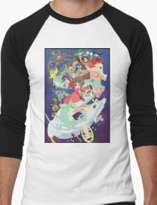 Spirited Away - Hooray Men's Baseball ¾ T-Shirt