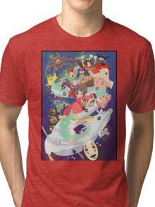 Spirited Away - Hooray Tri-blend T-Shirt