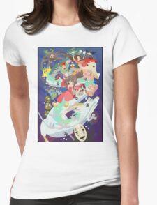 Spirited Away - Hooray Womens Fitted T-Shirt