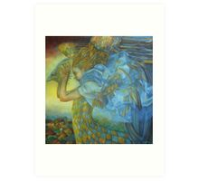 chimera, the sound of the thunder Art Print