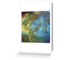 chimera, the sound of the thunder Greeting Card