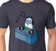 Napstablook DJ Pixel Arts Coloured Unisex T-Shirt