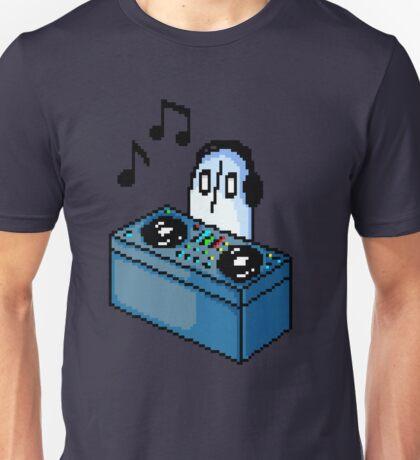Napstablook DJ Pixel Arts Coloured Unisex T-Shirt