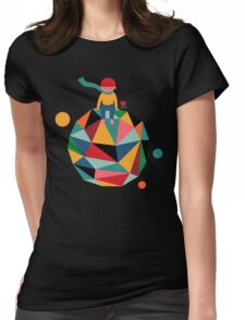 Lonely planet Womens Fitted T-Shirt