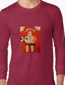 hopi kachina doll Long Sleeve T-Shirt