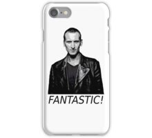 Doctor Who - Fantastic! - 9th Doctor iPhone Case/Skin