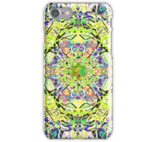 Juicy Liquid Paint Mandala Nineteen iPhone Case/Skin
