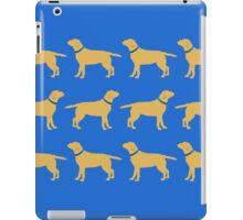 Golden Labradors - Blue Collar iPad Case/Skin