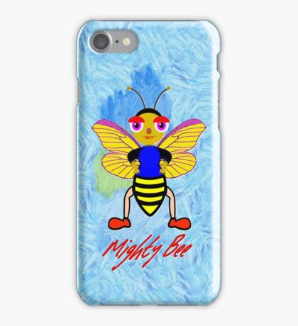 Mighty Bee iPhone case design iPhone Case/Skin