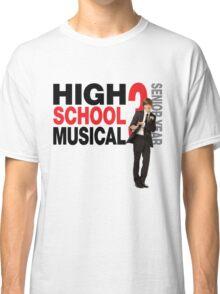 High school musical Troy Bolton hsm 3 Classic T-Shirt