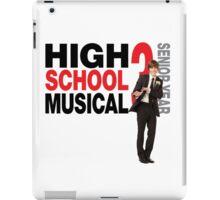 High school musical Troy Bolton hsm 3 iPad Case/Skin