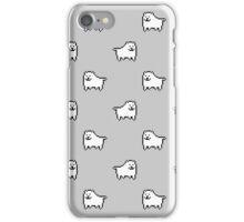 Undertale Annoying Dog - Grey iPhone Case/Skin
