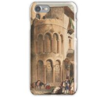 Knight, Henry Gally SARACENIC & NORMAN REMAINS TO ILLUSTRATE THE NORMANS IN SICILY iPhone Case/Skin