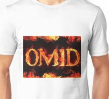 Omid's fire - artist unknown Unisex T-Shirt