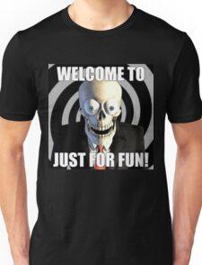 JUST FOR FUN SKULL Unisex T-Shirt
