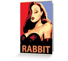Jessica Rabbit Greeting Card