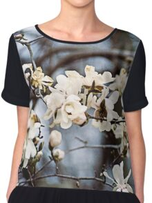 Magnolia Blossoms Chiffon Top