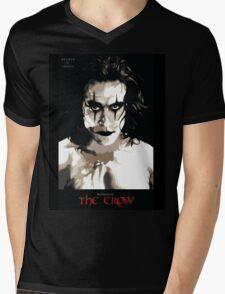 The Crow Mens V-Neck T-Shirt