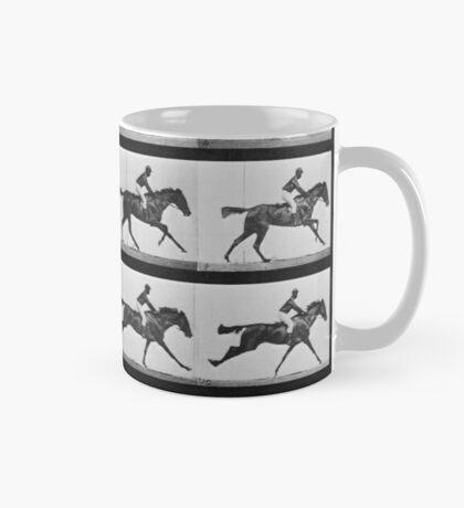 Muybridge Horse Photographic Horse Motion Study Mug