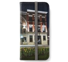 Tulips at twilight iPhone Wallet/Case/Skin