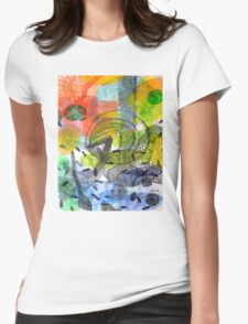Colored Soup Womens Fitted T-Shirt