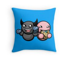The Binding Of Isaac Afterbirth - Dark Bum and Bum Friend Throw Pillow