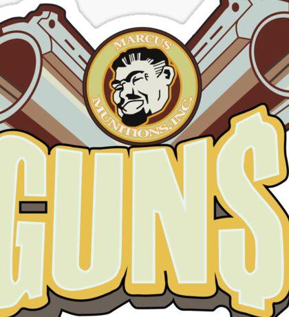 Marcus guns Sticker