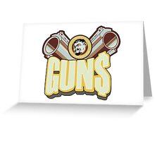 Marcus guns Greeting Card