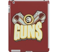 Marcus guns iPad Case/Skin