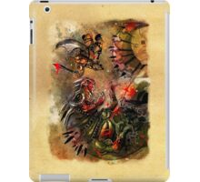 Manstodon versus the Swamp Tyrant iPad Case/Skin